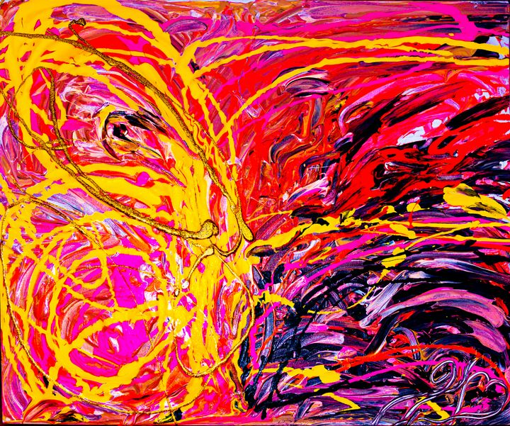 Super Nova Butterfly Neon Version - Kristin Woodward