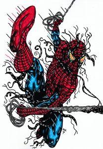 SPIDER VENOM - NICHOLAS PRICE ARTIST