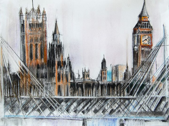 big ben parliament london - olga kapitanska