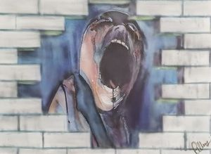 Pink Floyd The Wall The Scream.