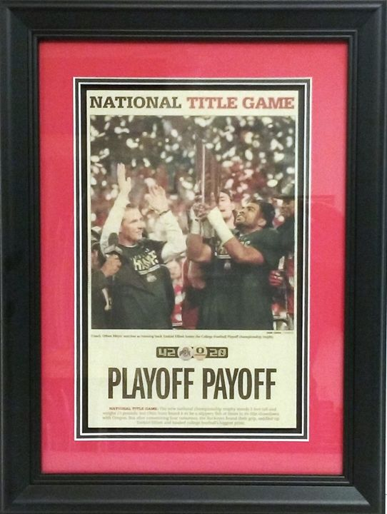 OSU 2015 National Champs! - The Frame Cellar