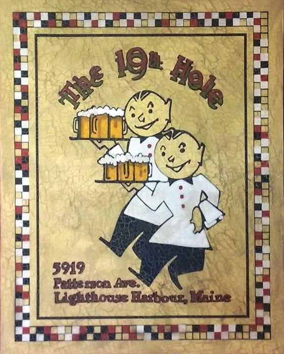 The 19th Hole - The Frame Cellar