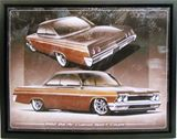 1962 Bel Air canvas print