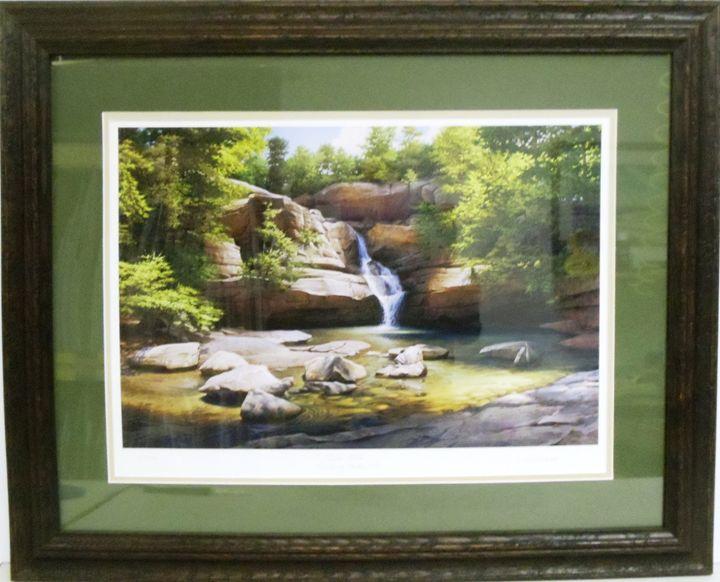 Cedar Falls Print - The Frame Cellar
