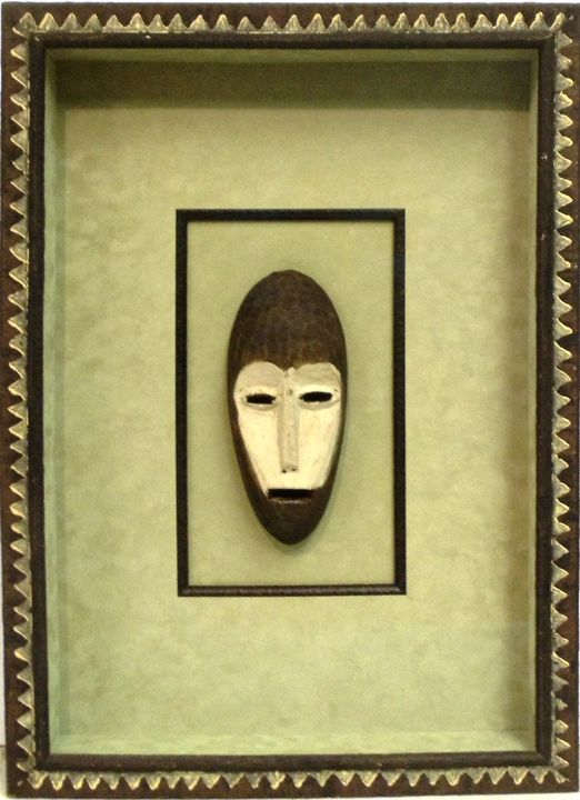 African Tribal Mask - The Frame Cellar