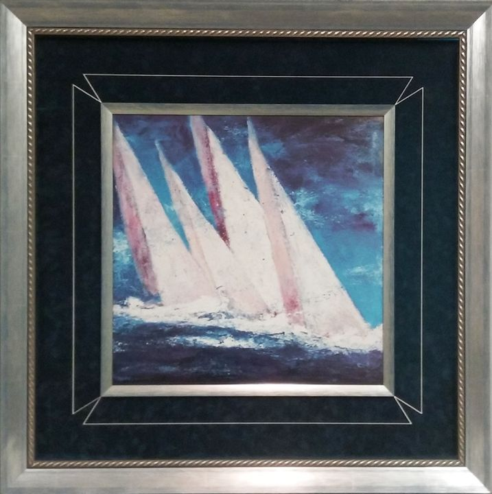 Sailboats - The Frame Cellar