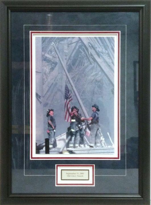 September 11 Tribute Print - The Frame Cellar