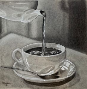 Coffee Cup and Saucer - Joy of Art