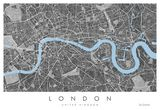 London Map Print, Fine Art London,Pr