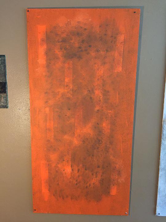 Orange Burn - Adam Bruns Art