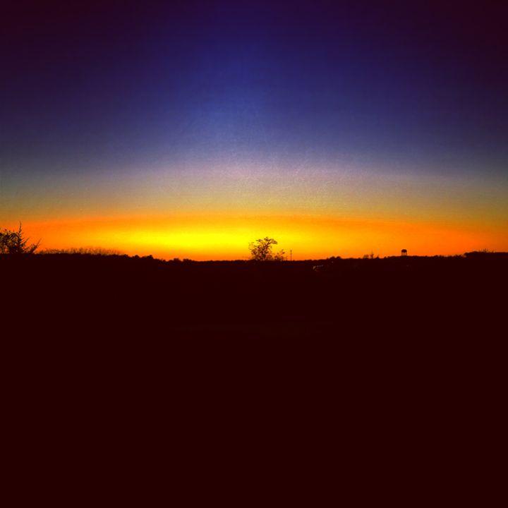 Gold Sunset - Adam Bruns Art