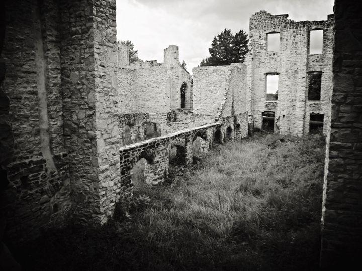 ha ha tonka castle - Adam Bruns Art