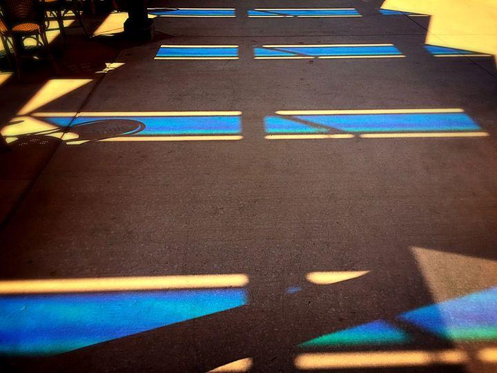 Solar Blue - Adam Bruns Art
