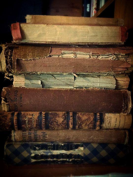 Old Books - Adam Bruns Art