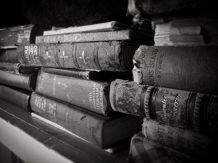Old book - Adam Bruns Art