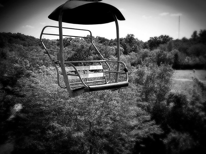 Sky bench - Adam Bruns Art