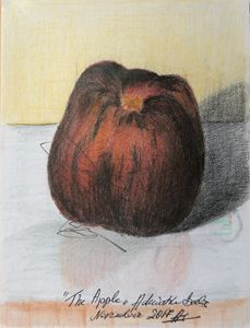A very sweet apple. - Adriatik Balos