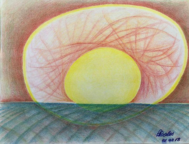 The sunset. - Adriatik Balos