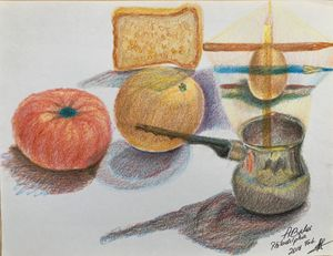 Pencils still life games. - Adriatik Balos