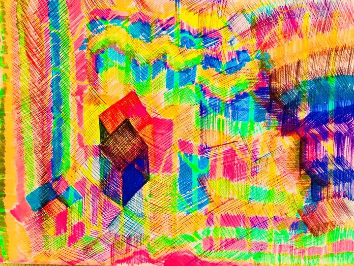 Forest of colours. - Adriatik Balos