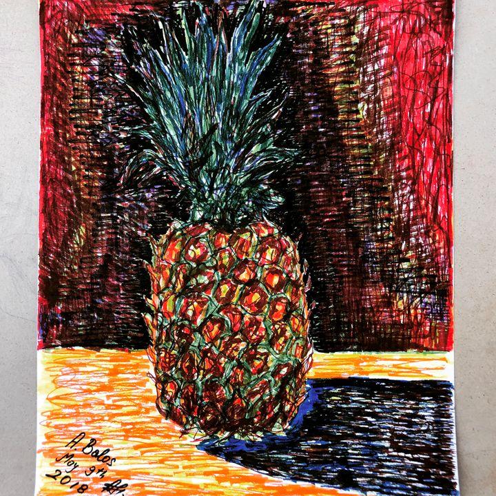 The pineapple. - Adriatik Balos