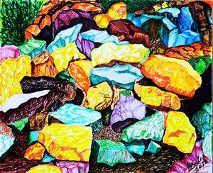 Free stones.