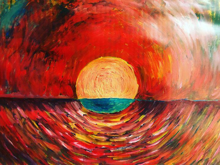 The sun and the sea - Adriatik Balos