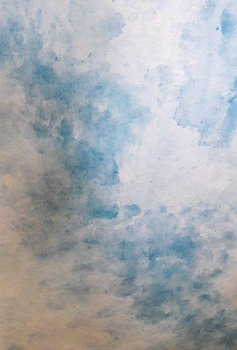 Blue water - LanaArtPal