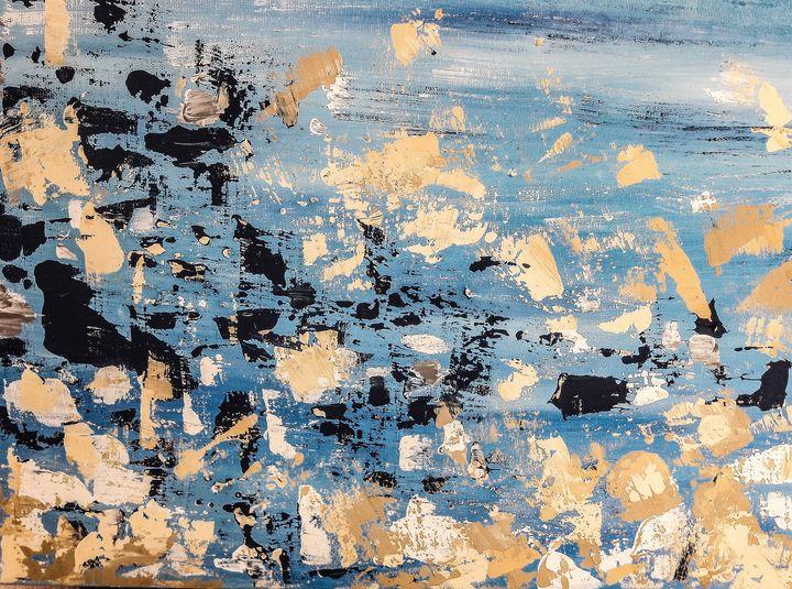 Abstract sea coast - LanaArtPal