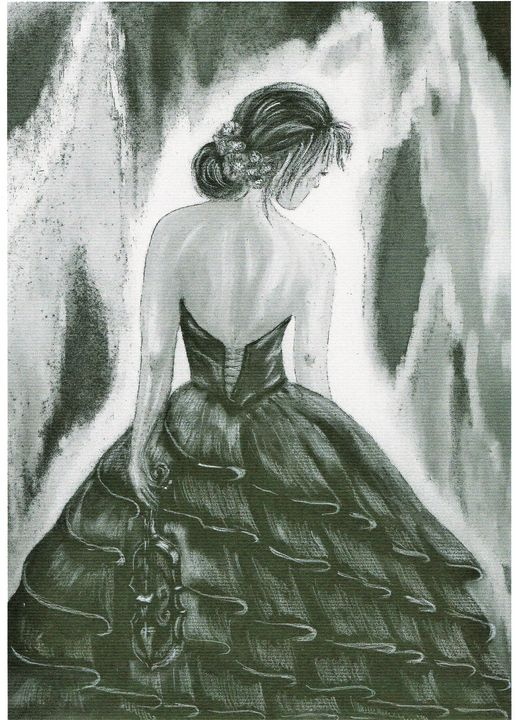 Girl with Violin - Mdecor