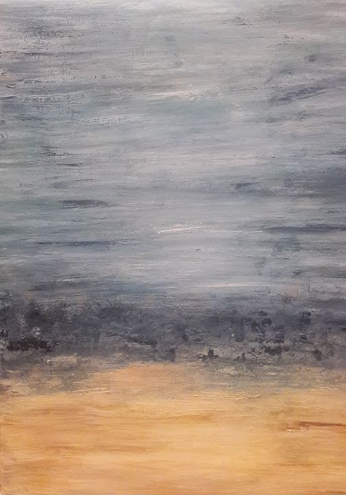 "Abstract seascape ''Sea&sand"" - Mdecor"