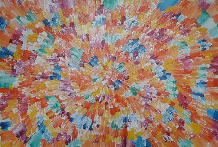 multicolored abstract - LanaArtPal