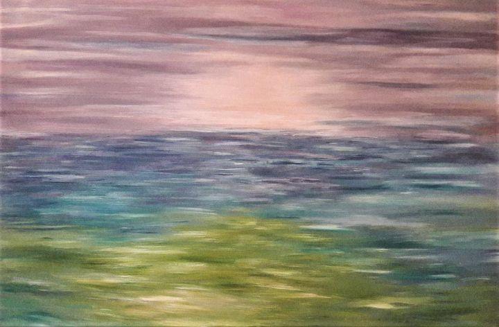 Abstract Seascape - LanaArtPal
