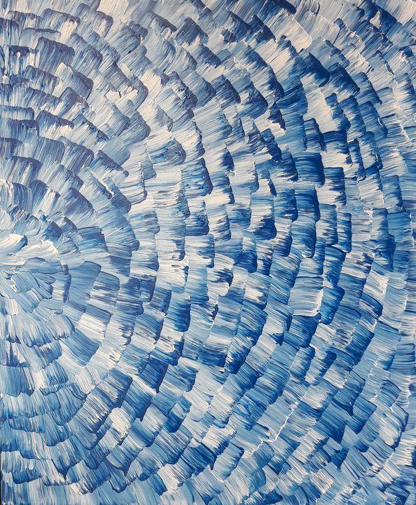 Blue&White Colors - LanaArtPal