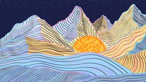 Water Color Mountain, Dream