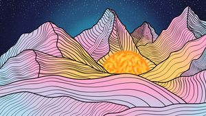 Hue Mountain, Night