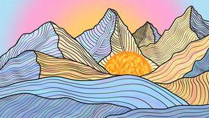Cotton Candy Mountain