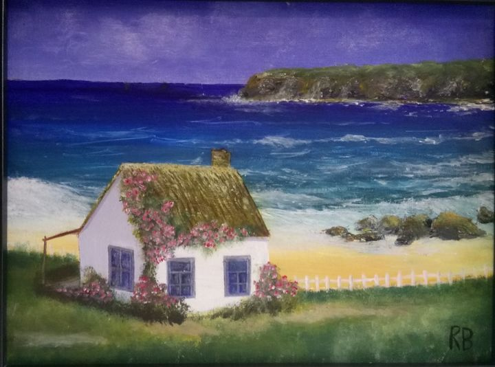 Cottage on a cliff - RB