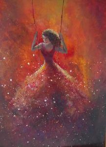 Magic dancer swinging