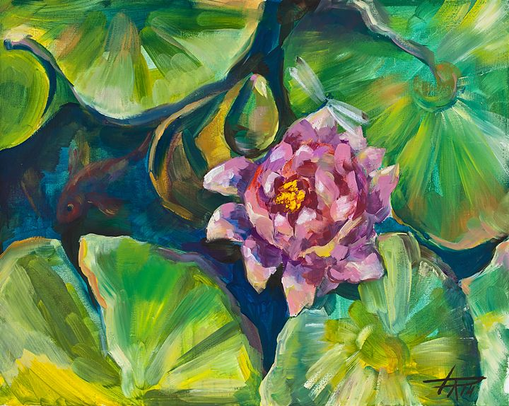 water lily - BalticGallery