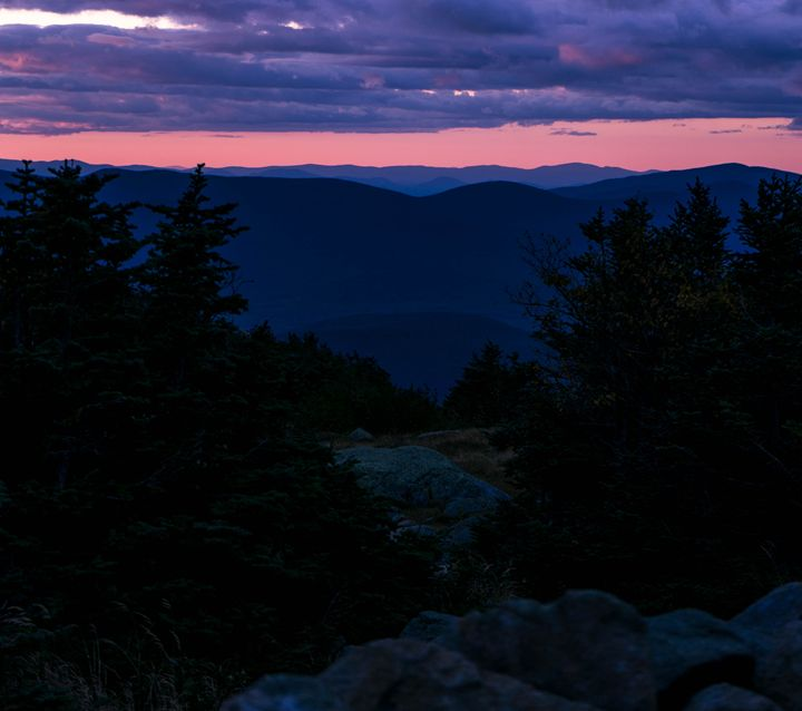 Sunset in the Mountains - Max Ablicki - Adventure Photography