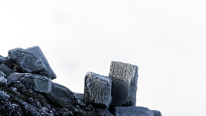 Rocks on Mount Madison - Max Ablicki - Adventure Photography