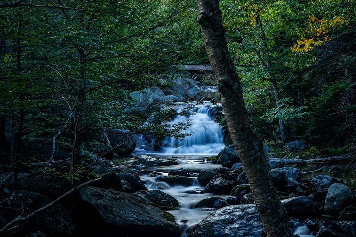 Tukerman's Ravine Trail Waterfall - Max Ablicki - Adventure Photography