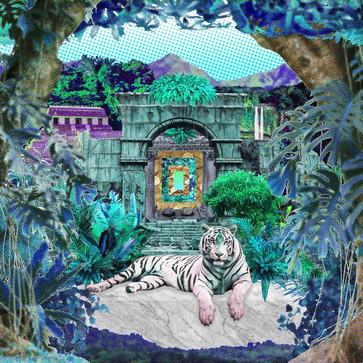 U as an Ivory Tigress - CYBERGOTHGALOOT