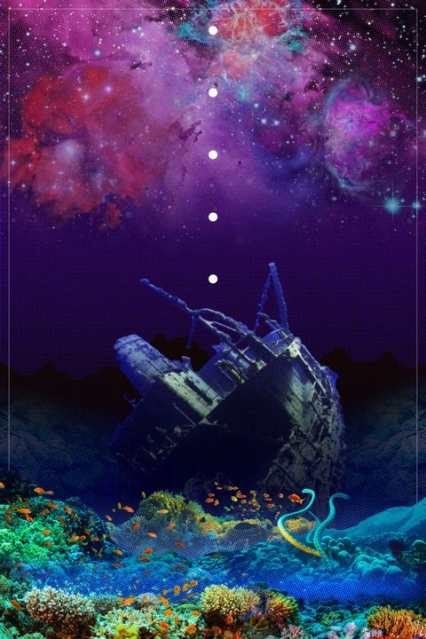 Scuttled In Seaspace - CYBERGOTHGALOOT