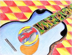 "Guitar for Peace"" 44"