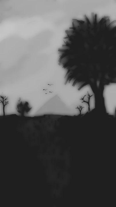 Dark barren lands - Vikas Valankumeri