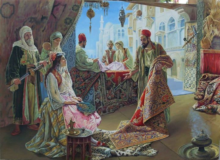 arabic culture - Altaous Art Studio - Paintings & Prints, Ethnic ...