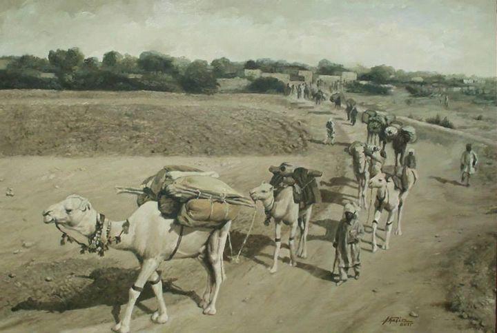camels - Altaous Art Studio
