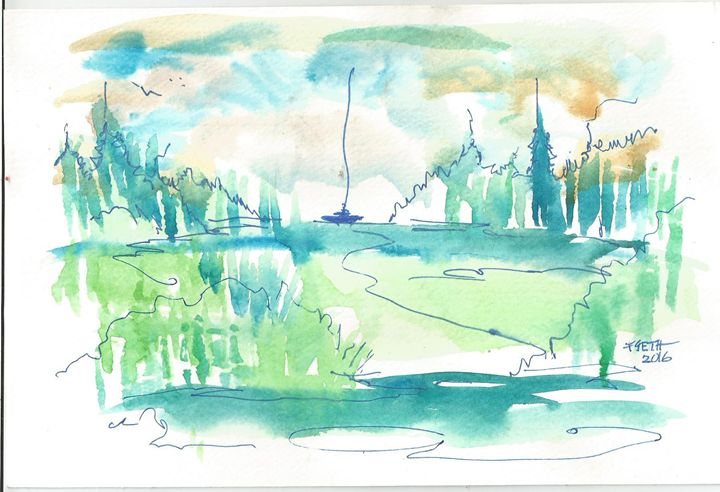 Painting 2 - Frank Seth